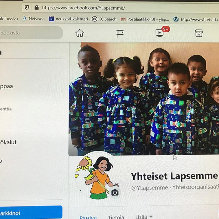 Kuva Yhteiset Lapsemme ry:n Facebook-sivusta.